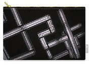 Industrial Geometric Design Carry-all Pouch
