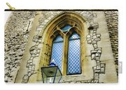 Infamous White Tower Of London Carry-all Pouch