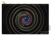 Infinite, Ever Expanding Image. Colorful And Classic Spiral Digital Art That Can Enhance Your Mood. Carry-all Pouch