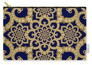 Infinite Lily In Navy Carry-all Pouch