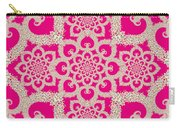 Infinite Lily In Pink Carry-all Pouch