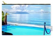 Infinity Pool And Ocean Carry-all Pouch