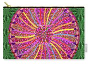 Infinity Star Flower An Abstract Fineart Expression By Navinjoshi At Fineartamerica Colorful Fun Carry-all Pouch