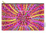 Infinity Star Flower An Abstract Fineart Expression By Navinjoshi At Fineartamerica.  Colorful Fun Carry-all Pouch