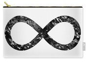 Infinity Symbol-black Carry-all Pouch