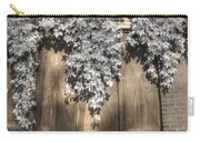 Infrared Botanical Sepia  Carry-all Pouch