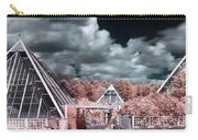 Infrared Glass Pyramids Panorama Carry-all Pouch