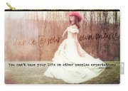 Infrared Quote Carry-all Pouch