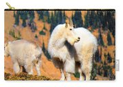 Ingalls Lake Mountain Goats Carry-all Pouch