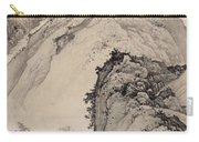 Ink Painting Landscape House Carry-all Pouch