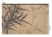 Ink Painting Stone Bamboo Carry-all Pouch