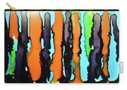 Ink Stripes Carry-all Pouch