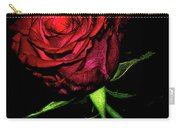 Inked Rose Carry-all Pouch