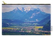 Inn River Valley And Kaiser Mountains View Carry-all Pouch
