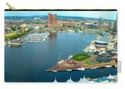 Inner Harbor Baltimore Panorama Carry-all Pouch