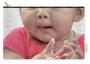Innocence In Eyes Carry-all Pouch