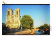 Notre Dame In Sunset Light Carry-all Pouch