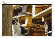 Inquisitive Kitten On The Greek Island Of Mykonos Carry-all Pouch