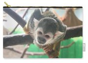 Inquisitive Monkey Carry-all Pouch