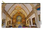 Inside Sanctuary At Carmel Mission-california  Carry-all Pouch