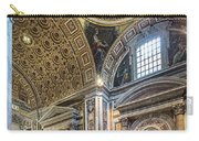 Inside St Peter's Basilica Rome Carry-all Pouch