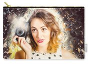 Inspiration Of A Creative Pinup Photographer  Carry-all Pouch
