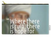 Inspirational Quotes - Motivational - 163 Carry-all Pouch