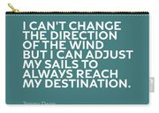 Inspirational Quotes Series 012 Jimmy Dean Carry-all Pouch