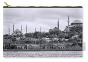 Instanbul In Black And White Carry-all Pouch