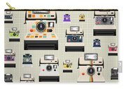 Instant Camera Pattern Carry-all Pouch