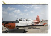 Instructor Pilot And Student In A T-34 Carry-all Pouch