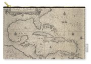 Insulae Americanae In Oceano Septentrionale Carry-all Pouch