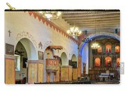 Interior Image Of San Juan Bautista Mission Carry-all Pouch