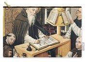 Interior Of A Scriptorium Carry-all Pouch