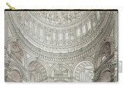 Interior Of Saint Pauls Cathedral Carry-all Pouch