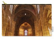 Interior Of Strasbourg Cathedral Carry-all Pouch