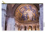 Interior Sacre Coeur Basilica Paris France Carry-all Pouch