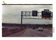Interstate 70 West At Exit 8b, Interstate 435 North Exit, 1987 Carry-all Pouch