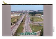 Interstate 74 West At Exit 95b, Route 116 East Exit, 1975  Carry-all Pouch