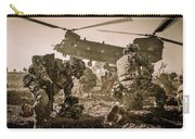 Into Battle-sepia Carry-all Pouch