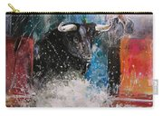 Into The Arena Carry-all Pouch by Miki De Goodaboom
