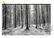 Into The Monochrome Woods Carry-all Pouch