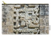 Intricate Details Of Mayan Ruins Carry-all Pouch