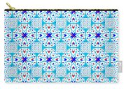 Intricate Geometric Pattern Carry-all Pouch