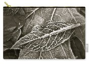 Intricately Frosted Carry-all Pouch