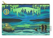 Inuit Love Arctic Landscape Painting Carry-all Pouch
