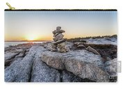 Inukshuk In Terence Bay, Nova Scotia Carry-all Pouch