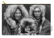Inupiat Family Portrait - Alaska 1929 Carry-all Pouch