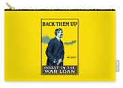 Invest In The War Loan - Ww1 Carry-all Pouch