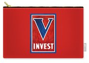 Invest In Victory - World War 2 Carry-all Pouch